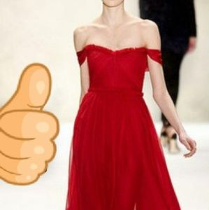 Dresses & Skirts - Exquisite Couture Off Shoulder Gown